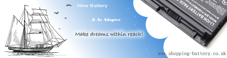 Make dreams within reach!, Shopping-battery.co.uk offer all model laptop batteries and ac adapters for acer, asus, apple, dell, hp etc notebook computer