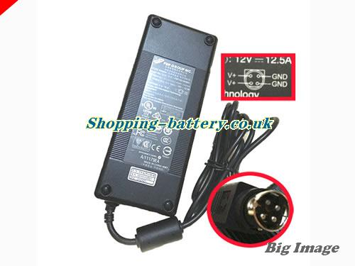 FSP 12V 12.5A  Notebook ac adapter, FSP12V12.5A150W-4PIN-B