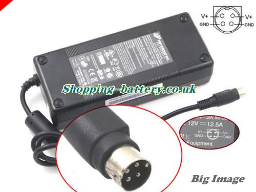 FSP 12V 12.5A  Notebook ac adapter, FSP12V12.5A150W-4PIN
