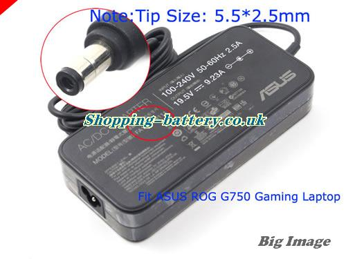 ASUS 19.5V 9.23A  Notebook ac adapter, ASUS19.5V9.23A180W-5.5x2.5mm