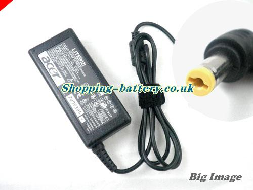 UK ACER 2301LC adapter, 19V 3.42A 2301LC laptop computer ac adaptor, ACER19V3.42A65W-5.5x1.7mm