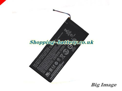 ACER 1ICP3/65/138 Battery 3680mAh, 14Wh  3.8V Black Li-ion