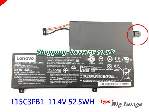 LENOVO 5B10K84638 Battery 4645mAh, 52.5Wh  11.4V Black Li-ion