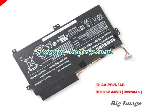 SAMSUNG NP370R4V-S02TH Battery 3992mAh, 43Wh  10.8V Black Li-Polymer