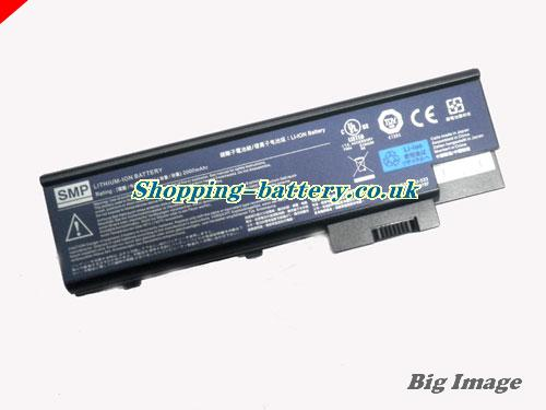 ACER 3004WLMi Battery 2200mAh 14.8V Black Li-ion