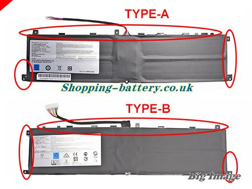 BTY-M6L Battery, UK rechargeable 5380mAh, 80 25Wh BTY-M6L