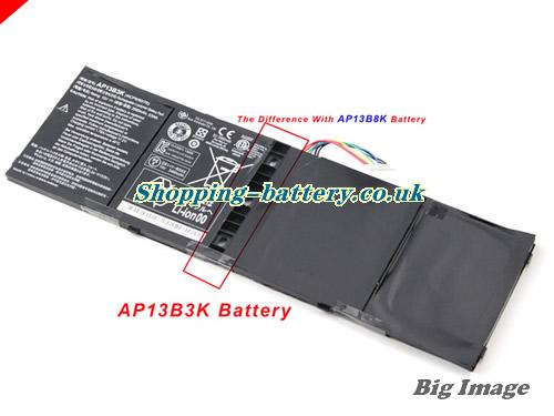 Acer 4ICP6/60/78 Battery 3460mAh, 53Wh  15V Black Li-Polymer