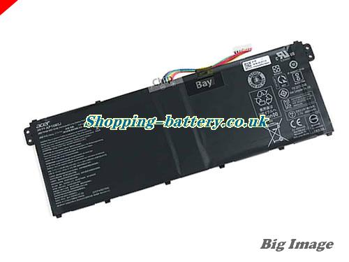 ACER 2ICP4/80/104 Battery 4810mAh, 37Wh  7.7V Black Li-Polymer