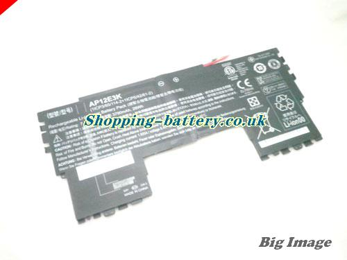 ACER 1ICP365114-2 Battery 3790mAh, 28Wh  7.4V Black Li-Polymer