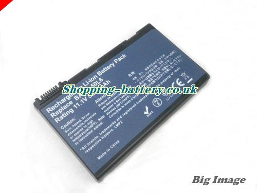 Acer 306035LCBK Battery 5200mAh 11.1V Black Li-ion