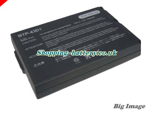 Acer 60.46W18.001 Battery 4400mAh, 65Wh  14.8V Black Li-ion