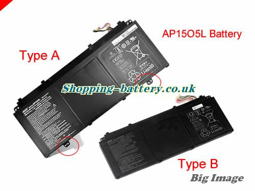 ACER 3ICP4/91/91 Battery 4670mAh, 53Wh  11.55V Black Li-ion