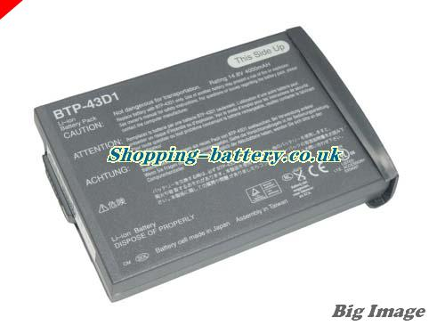 Acer 60.49S22.011 Battery 4400mAh 14.8V Grey Li-ion