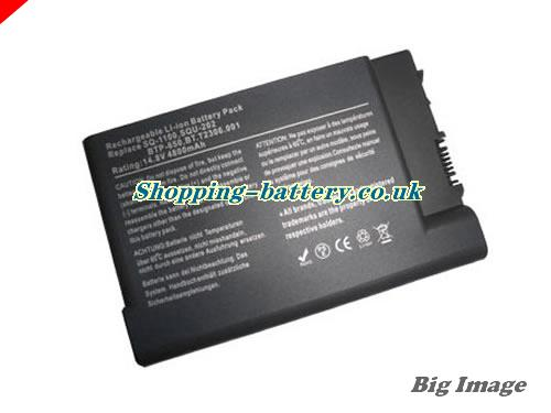 Acer 916-2450 Battery 4400mAh 14.8V Black Li-ion
