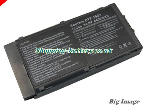 Acer 60.42S16.012 Battery 3920mAh 14.8V Black Li-ion