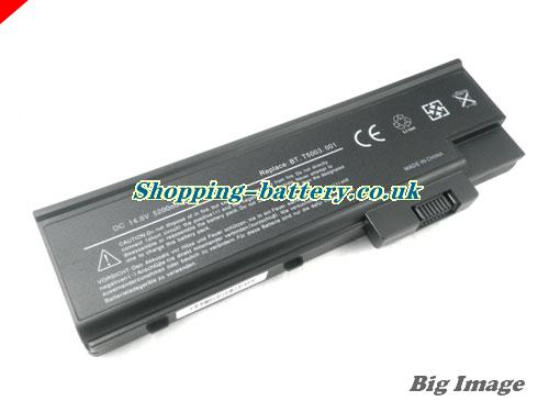 Acer 4UR18650F-2-QC141 Battery 4400mAh 14.8V Black Li-ion