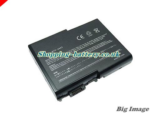 Acer 909-2220 Battery 4400mAh 14.8V Black Li-ion