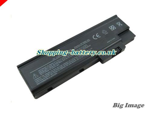 ACER 3004WLMi Battery 4400mAh 11.1V Black Li-ion
