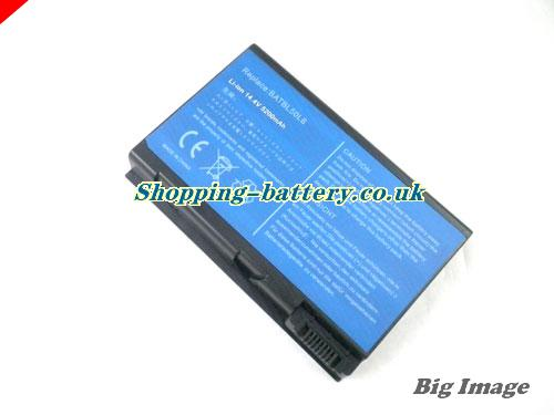 Acer 4UR18650F-2-CPL-25 Battery 5200mAh 14.8V Black Li-ion
