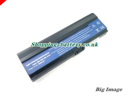 Acer 3UR18650F-3-QC262 Battery 6600mAh 11.1V Black Li-ion