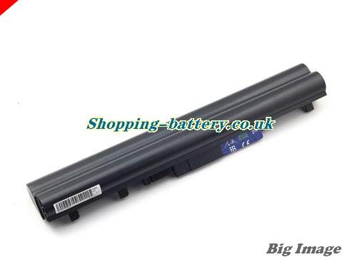 ACER 4UR18650-2-T0421 Battery 5200mAh, 75Wh  14.4V Black Li-ion