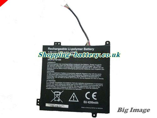 image 1 for 2ICP3/70/125 Battery, UK rechargeable 4350mAh, 32Wh  2ICP3/70/125 Batteries