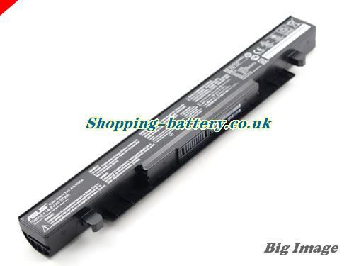image 1 for Genuine Li-ion Black ASUS A41-X550A A41X550A Battery 37Wh