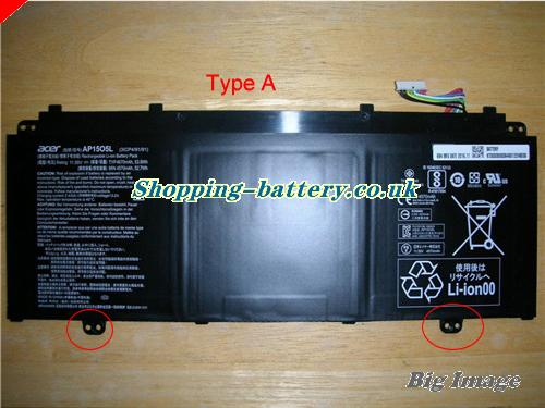 image 1 for 3ICP4/91/91 Battery, UK Rechargeable 4670mAh, 53.9Wh  Acer 3ICP4/91/91 Batteries