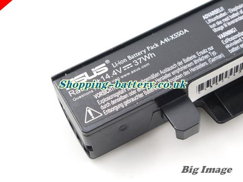 image 2 for Genuine Li-ion Black ASUS A41-X550A A41X550A Battery 37Wh