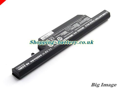 image 2 for W540BAT-6 Battery, UK rechargeable 4400mAh, 48.84Wh  W540BAT-6 Batteries