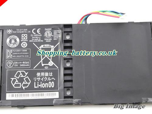 image 3 for 4ICP6/60/80 Battery, UK Rechargeable 3460mAh, 53Wh  Acer 4ICP6/60/80 Batteries