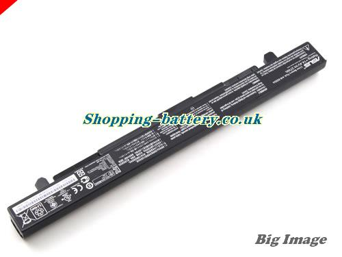 image 3 for Genuine Li-ion Black ASUS A41-X550A A41X550A Battery 37Wh