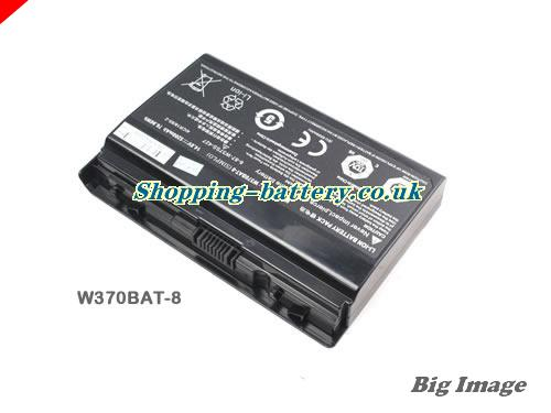 image 3 for W370BAT-8 Battery, UK rechargeable 5200mAh, 76.96Wh  W370BAT-8 Batteries