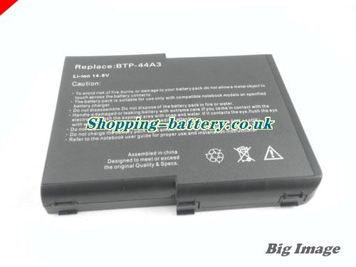image 5 for 1CPC159883-01 Battery, UK Rechargeable 6600mAh Acer 1CPC159883-01 Batteries