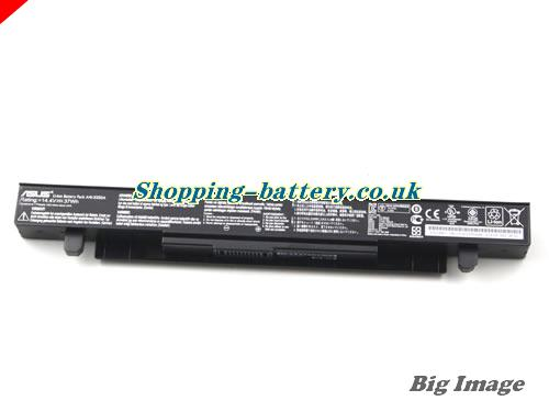image 5 for Genuine Li-ion Black ASUS A41-X550A A41X550A Battery 37Wh