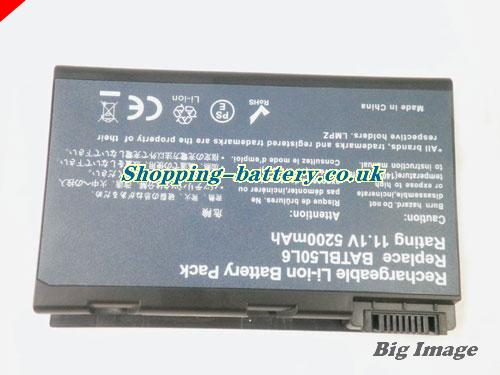 image 5 for 4UR18650F-2-CPL-20 Battery, UK Rechargeable 5200mAh Acer 4UR18650F-2-CPL-20 Batteries