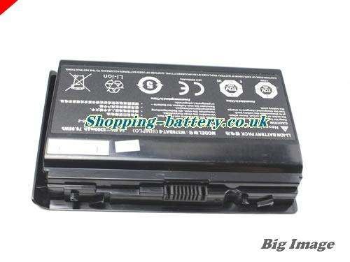 image 5 for W370BAT-8 Battery, UK rechargeable 5200mAh, 76.96Wh  W370BAT-8 Batteries