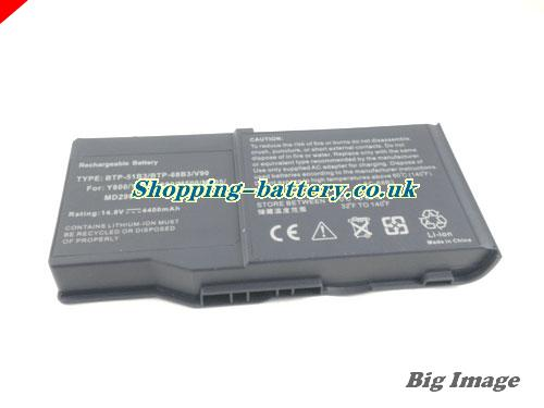 image 5 for 1529249 Battery, UK Rechargeable 4400mAh Acer 1529249 Batteries